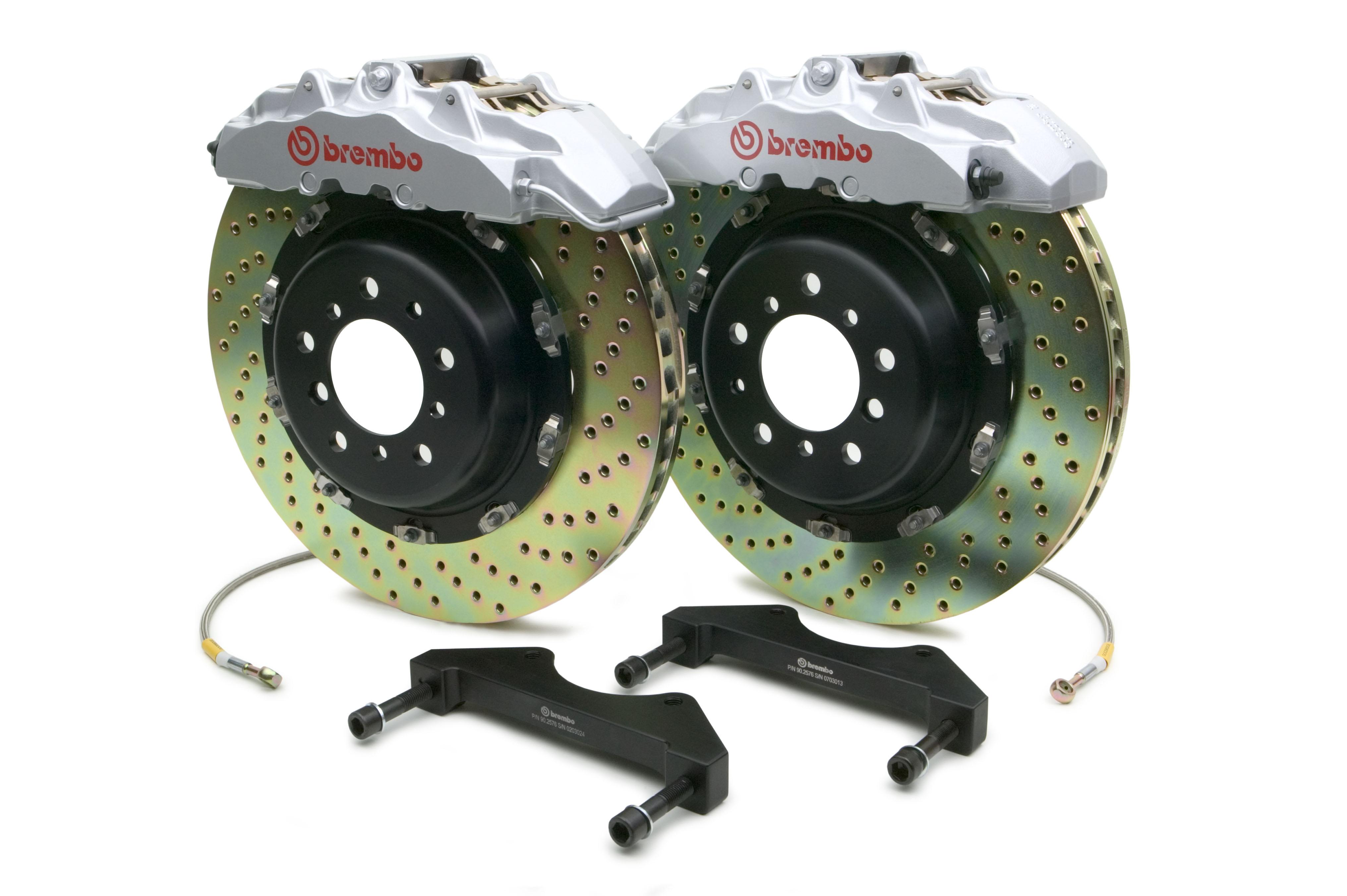 Brake Rotors Drilled And Slotted Hawk Performance Brake Pads Car